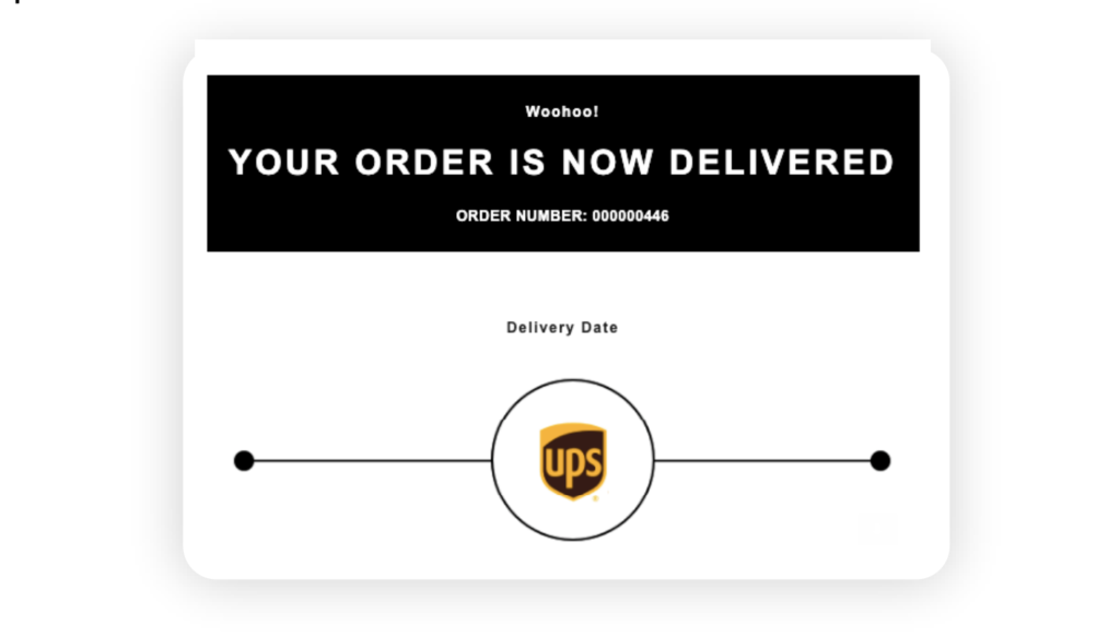 post purchase experience WeSupply estimated delivery date in transactional email