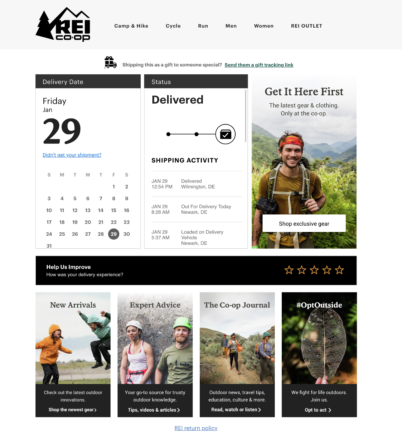 rei tracking page>