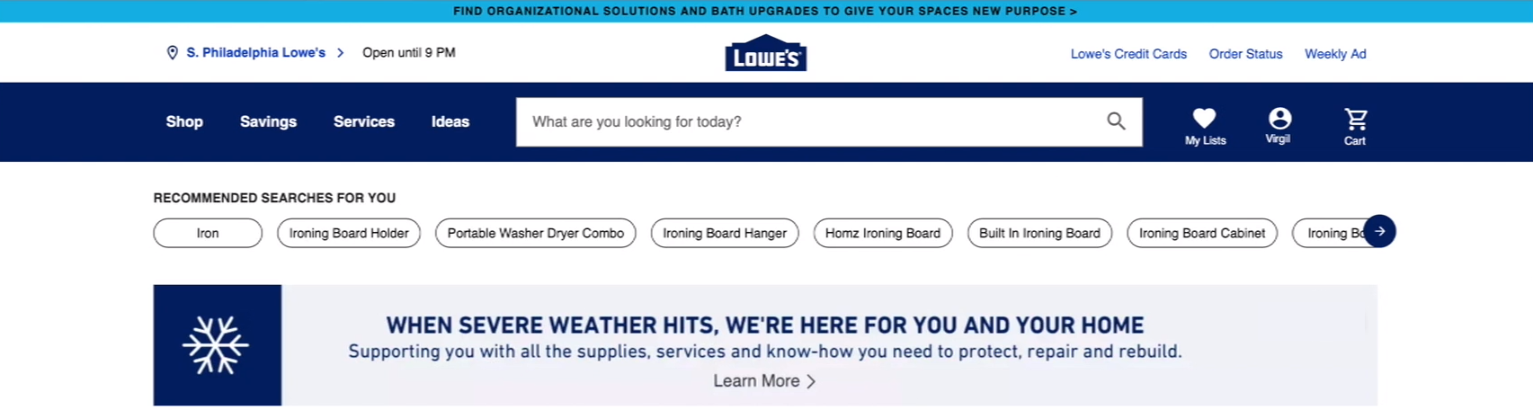 Lowes Closest Store